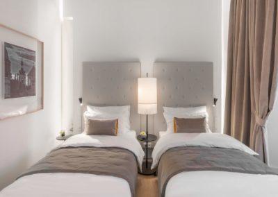 Superior Deluxe hotel room, Chateau **** Clara Futura, Dolní Břežany
